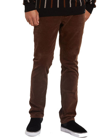 VOLCOM VORTA 5 POCKET CORD - VINTAGE BROWN