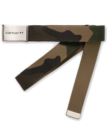 CARHARTT CLIP BELT CHROME - CAMO LAUREL