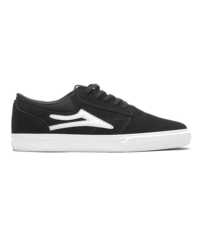 LAKAI GRIFFIN - BLACK/WHITE SUEDE