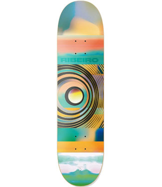 PRIMITIVE RIBEIRO COLOR WAVES DECK MULTI - 8.0