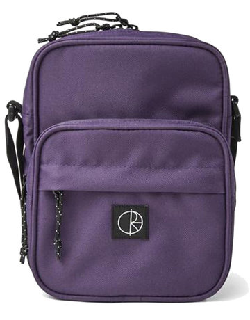 POLAR CORDURA POCKET DEALER BAG - PURPLE