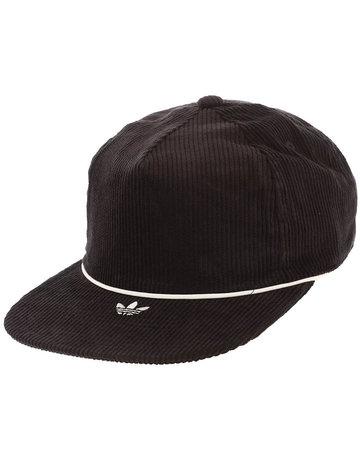 ADIDAS CORDUROY HAT - BLACK