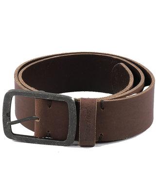 DICKIES Eagle Lake Leather Belt - Brown
