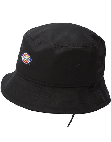 DICKIES LOGO BUCKET HAT - BLACK