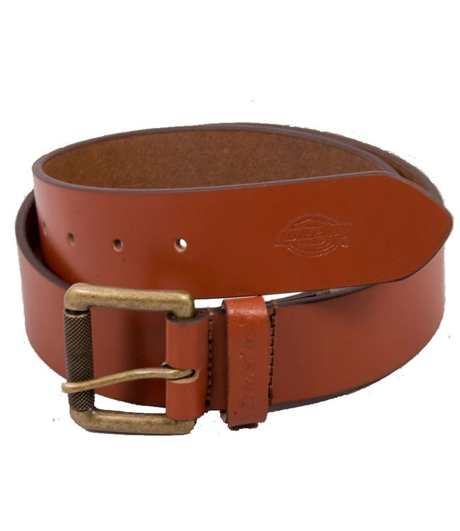 DICKIES South Shore Leather Belt - Brown