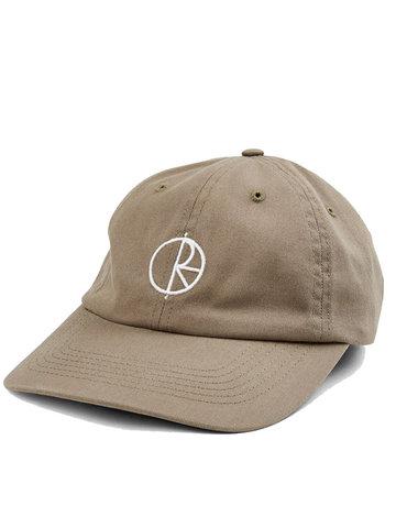 POLAR STROKE LOGO CAP - KHAKI