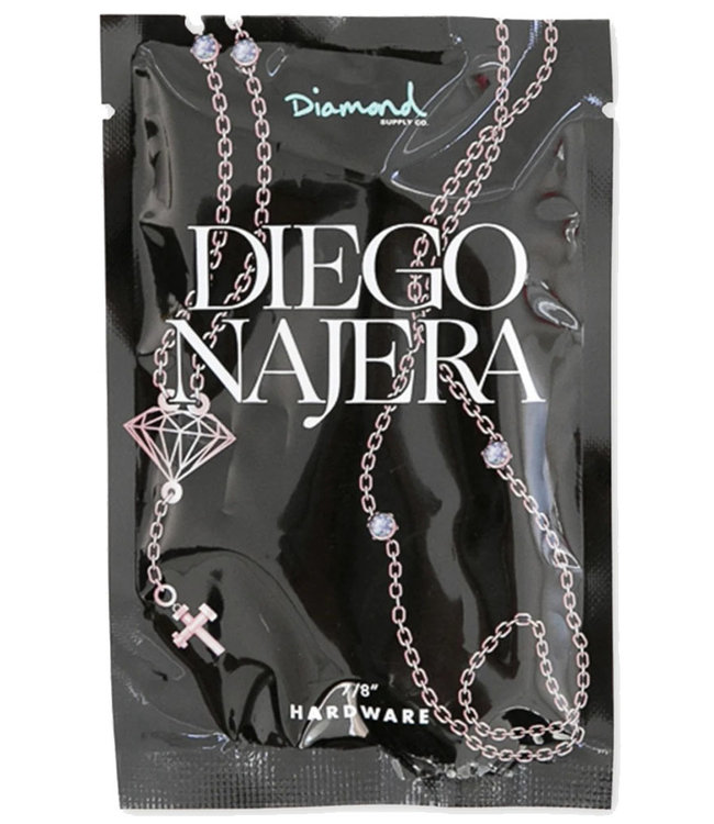 "DIAMOND DIEGO NAJERA PRO HARDWARE 7/8"" - ROSE GOLD"