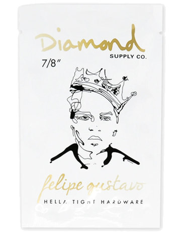 "DIAMOND FELIPE GUSTAVO PRO HARDWARE 7/8"" - GOLD"