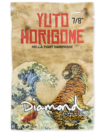 "DIAMOND YUTO HORIGIOME PRO HARDWARE 7/8"" - GREEN"