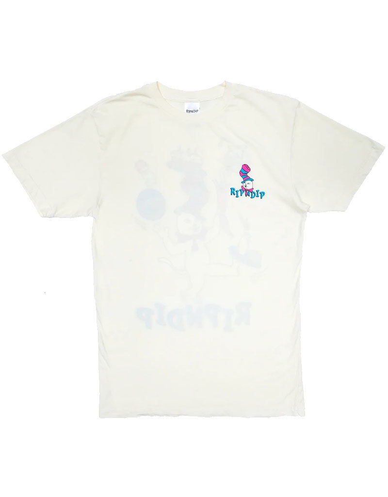 RIPNDIP NERM IN A HAT TEE - NATURAL