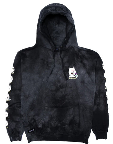 RIPNDIP 7 DAYS HOODIE - BLACK LIGHTNING WASH