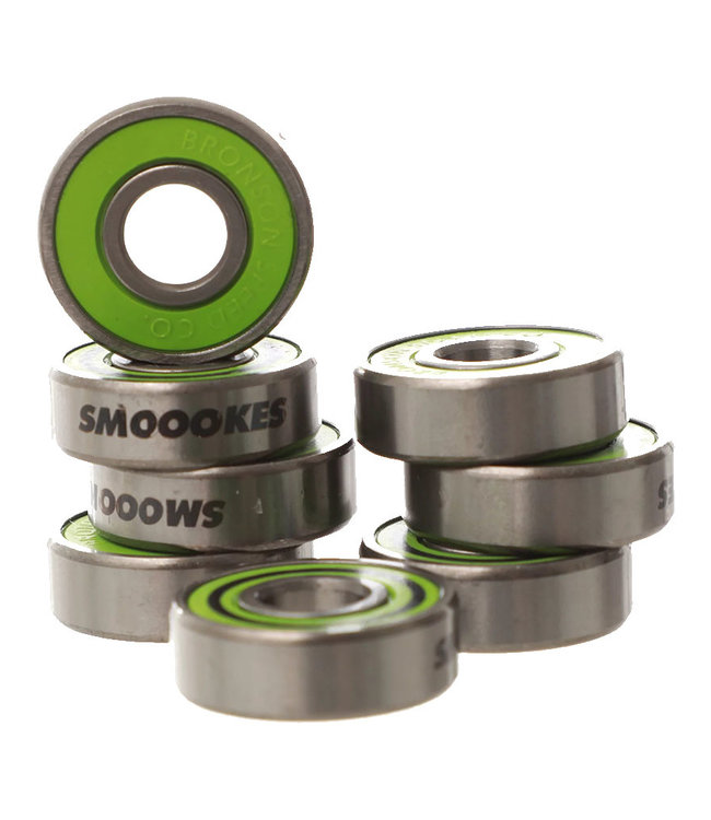 BRONSON SPEED CO. MILTON MARTINEZ PRO G3 BEARINGS - GREEN
