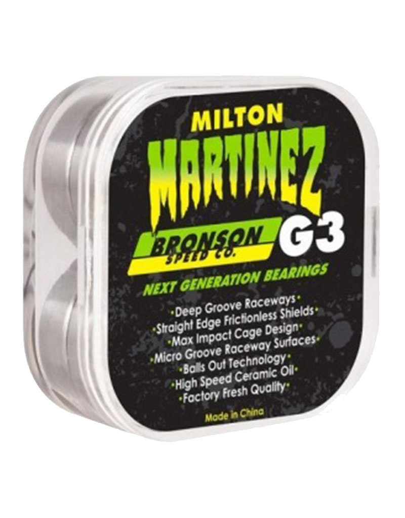 MILTON MARTINEZ PRO G3 BEARINGS - GREEN
