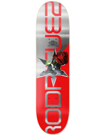 PRIMITIVE RODRIGUEZ THREAT DECK RED - 8.25