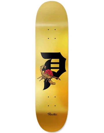 PRIMITIVE TEAM DIRTY P SCORPION DECK GOLD - 8.5