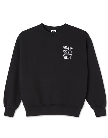 POLAR BIG BOY CLUB CREWNECK  - BLACK