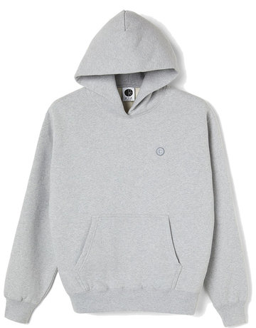POLAR PATCH HOODIE - SPORTS GREY
