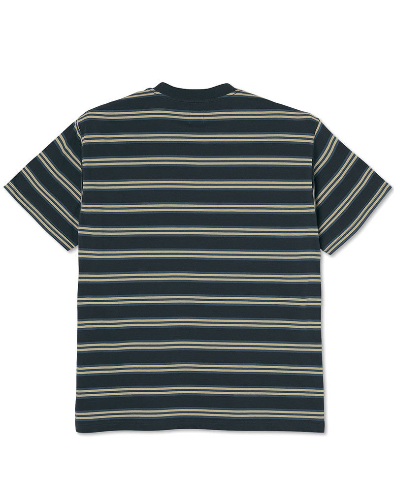 POLAR STRIPE TEE  - NAVY