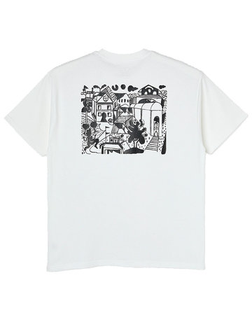 POLAR WEIGHT TEE  - WHITE