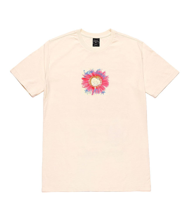 HUF WINDOW PAINE S/S TEE - NATURAL