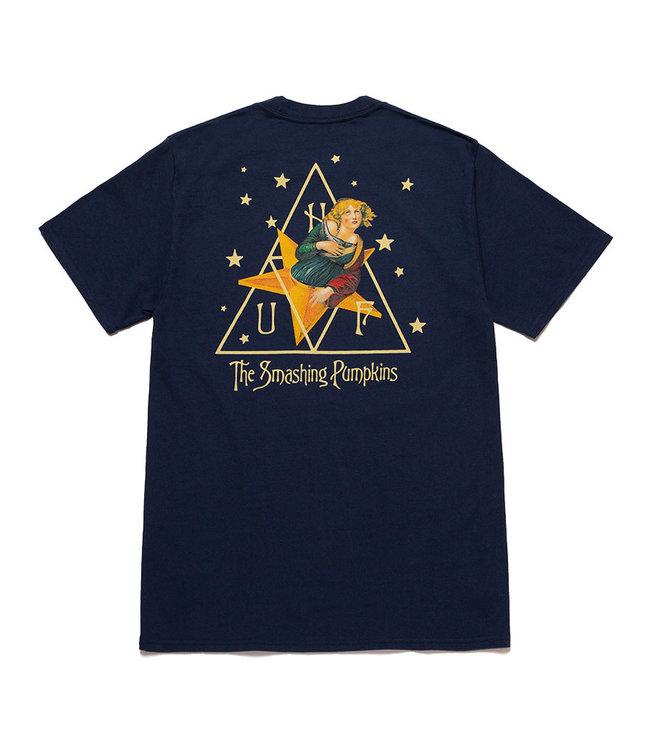 HUF STARLIGHT S/S TEE - NAVY