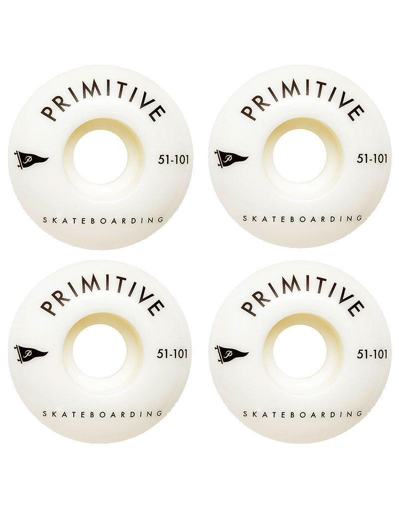 PRIMITIVE PENNANT ARCH TEAM WHEEL BLACK - 51mm