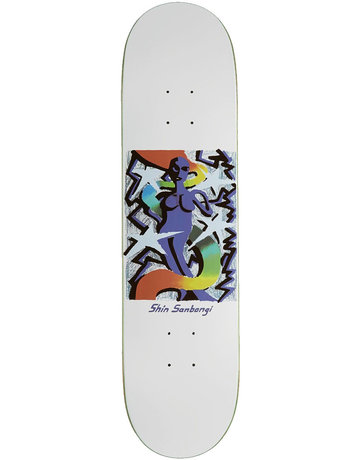 POLAR SHIN SANBONGI QUEEN  DECK WHITE - 8.25