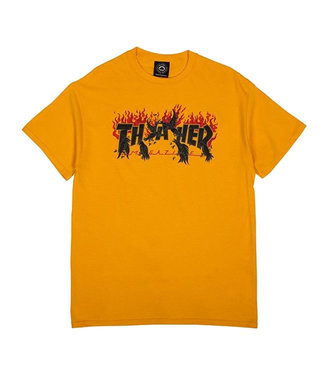 CROWS S/S TEE - GOLD