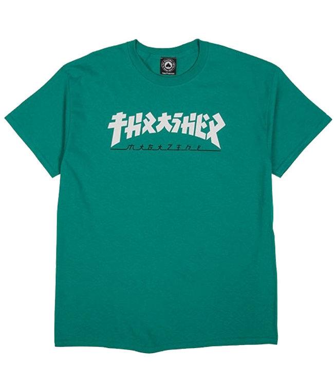 THRASHER GODZILLA S/S TEE - JADE