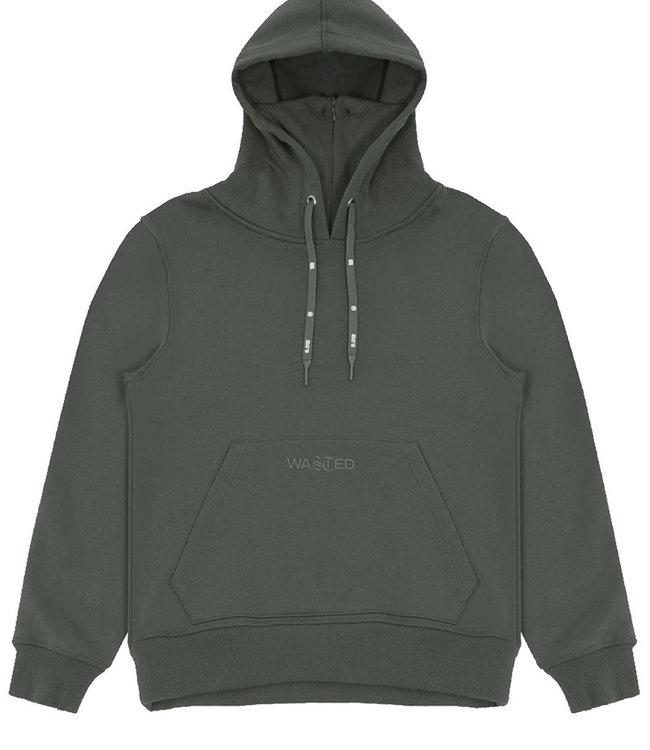 WASTED PARIS Essential Hoodie - Slate Green