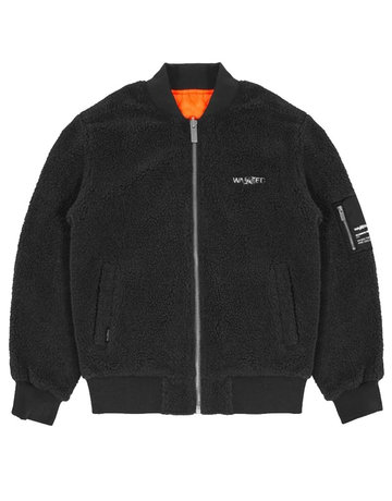 WASTED PARIS GAVIN JACKET REVERSIBLE - BLACK