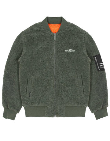WASTED PARIS GAVIN JACKET REVERSIBLE - SLATE GREEN