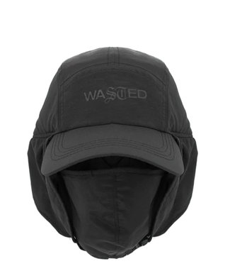 WASTED PARIS TRAPPER CAP WITH MASK - BLACK