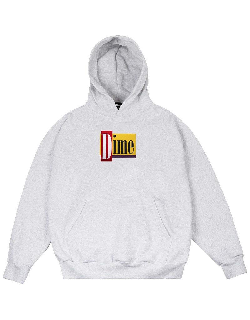 DIME DINER HOODIE - ASH