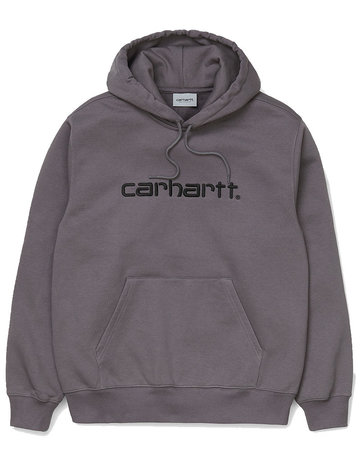 CARHARTT HOODED CARHARTT SWEAT - HUSKY/BLACK