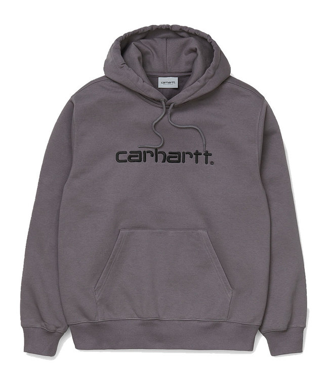 CARHARTT HOODED CARHARTT SWEAT - HUSKY/BLACK