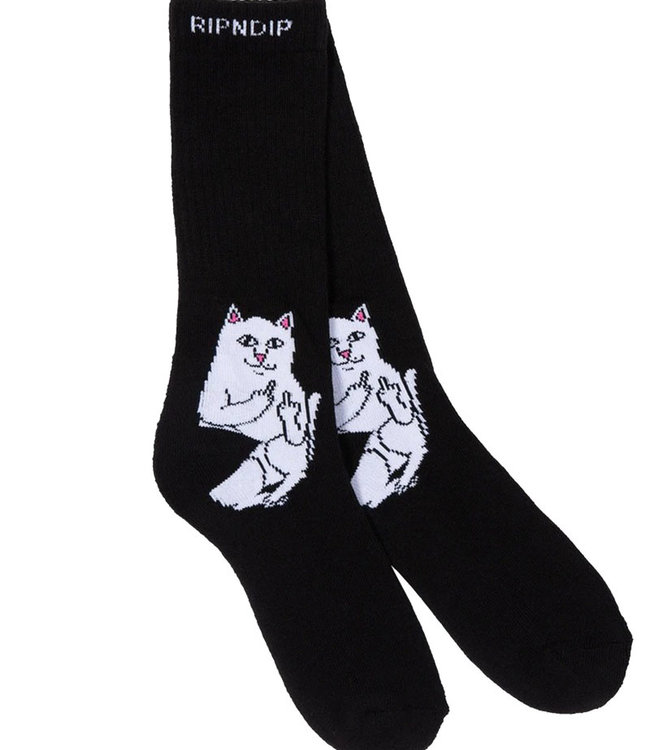 RIPNDIP LORD NERMAL SOCKS - BLACK