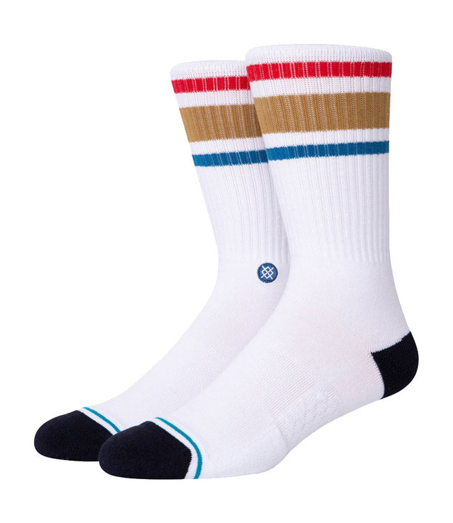 STANCE BOYD ST - WHITE/BROWN