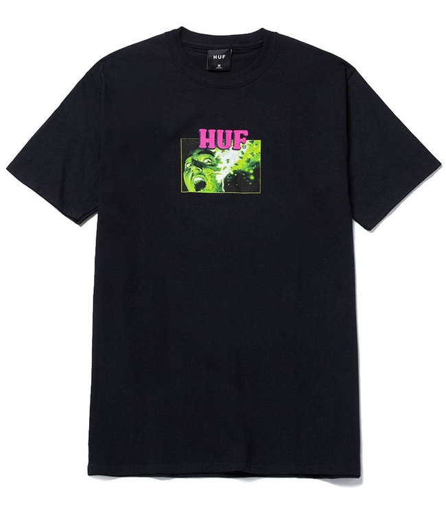 HUF FACE MELTER S/S TEE - BLACK