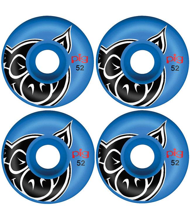 PIG WHEELS HEAD BLUE PROLINE - 52MM