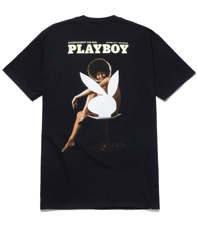 HUF PLAYBOY OCTOBER 1971 S/S TEE - BLACK