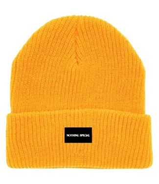 NOTHING SPECIAL NOTHING SPECIAL CUFF BEANIE - GOLD