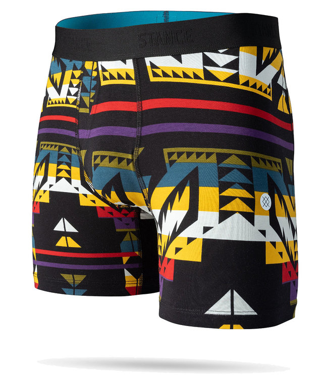 STANCE CRASH BOXER BRIEF - BLACK