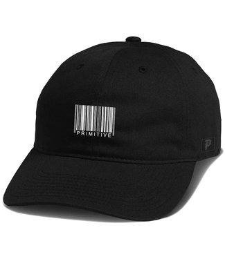 PRIMITIVE CODE STRAPBACK - BLACK