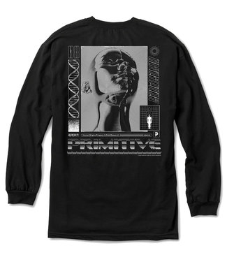 PRIMITIVE ORIGINS L/S TEE - BLACK