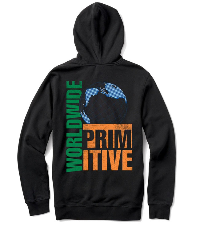 PRIMITIVE TAKEOVER HOOD - BLACK