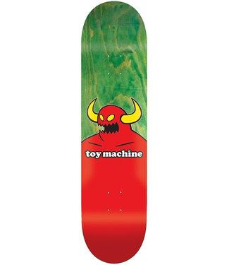 TOY MACHINE MONSTER DECK GREEN - 8.0