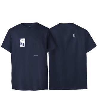 POETIC COLLECTIVE FLUID T - NAVY