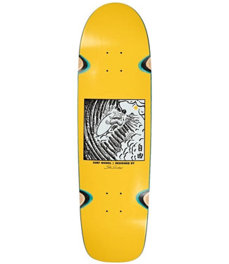 POLAR SHIN SANBONGI FREEDOM WHEEL WELLS DECK YELLOW - SURFSHAPE