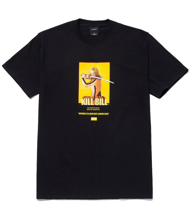 HUF BRIDE S/S TEE - BLACK